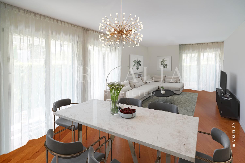 PrivaliaEn exclusivité : Appartement de 5 pièces avec jardin d'une surface de 150 m2 PPE pondérée